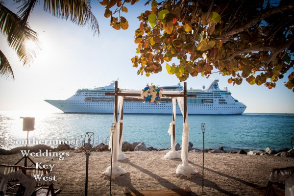 All-Inclusive Wedding Packages for Cruise Ship Passengers planned by Southernmost Weddings Key West