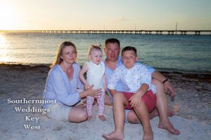 Bahia Honda Family Photo Session at Sunset by Southernmost Weddings Key West