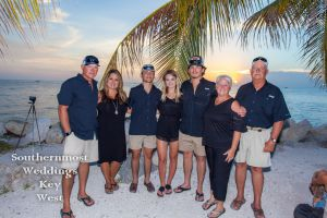 Family Portraits at Sunset by Southernmost Weddings Key West