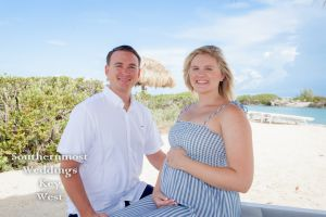 Maternity Photography Session at Hawk Cay in the Florida Keys