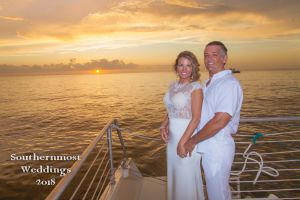 Sunset Sailboat Weddings by Southernmost Weddings Key West