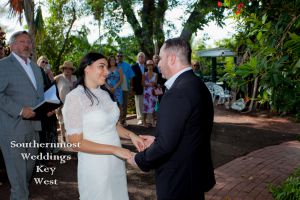 Tropical Garden Wedding by Southernmost Weddings Key West