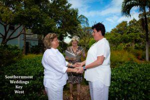 Truman Annex Tropical Garden Elopement <br> $315.00