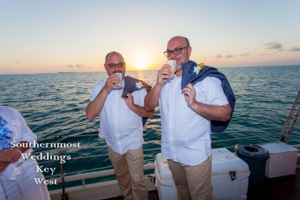 Private Sunset Sailboat Wedding<br>$3195.00