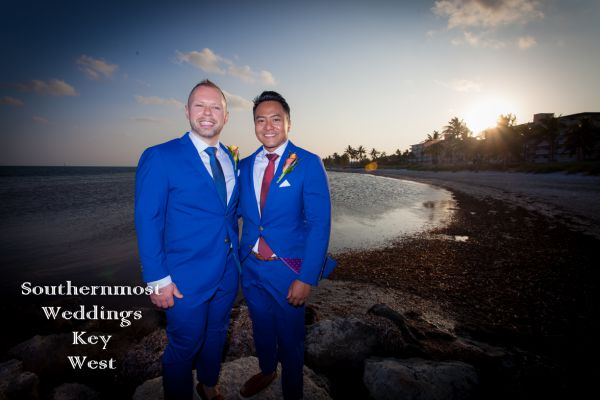 Key West Sandy Beach Sunset Wedding<br> $465.00
