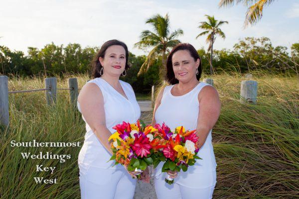 Sandy Beach Sunset Wedding <br>$465.00