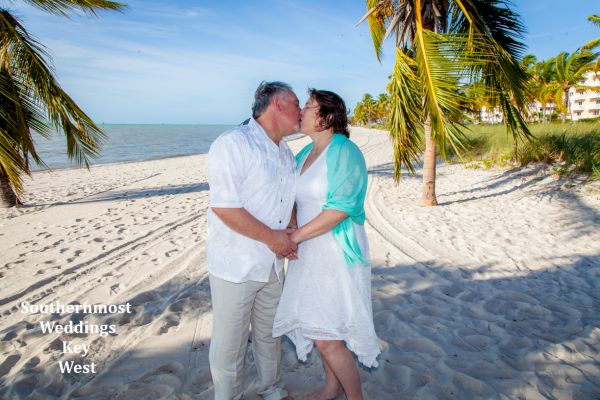 Beach Elopement Packages by Southernmost Weddings Key West