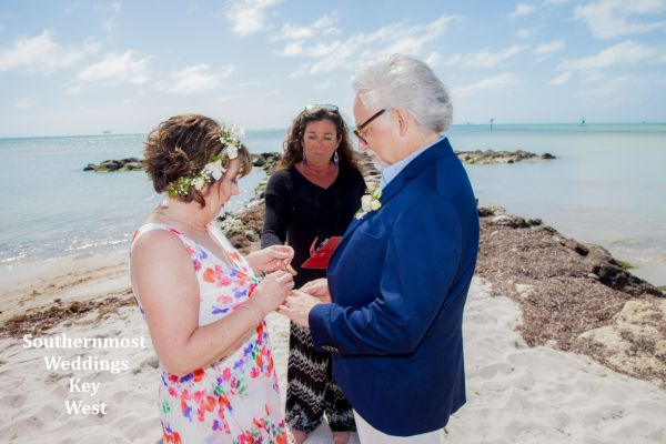 Smathers Beach Weddings by Southernmost Weddings Key West