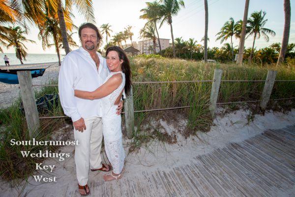 Smathers Beach Sunset Wedding <br>$465.00