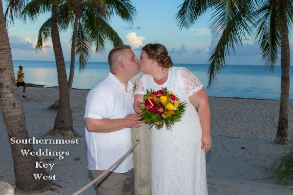 Florida Keys Sunset Beach Wedding <br>$465.00