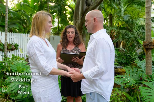 Key West Tropical Garden Wedding<br>  $295.00