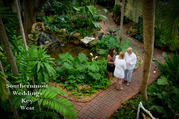Tropical Garden Guesthouse Wedding <br> $365.00