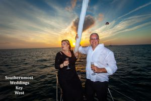 Private Sunset Sailboat Elopement<br> $1335.00