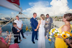 Private Sunset Sailboat Wedding<br>$5545.00