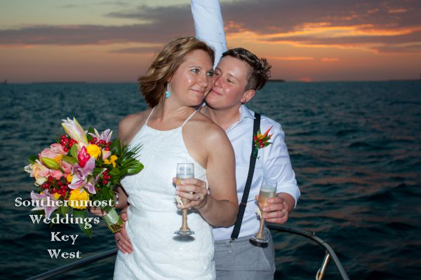 Private Sunset Sailboat Wedding<br>$1335.00