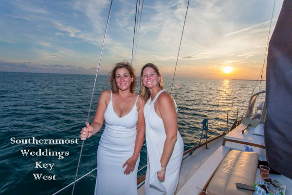 Key West Sunset Sailboat Weddings <br> $1335.00