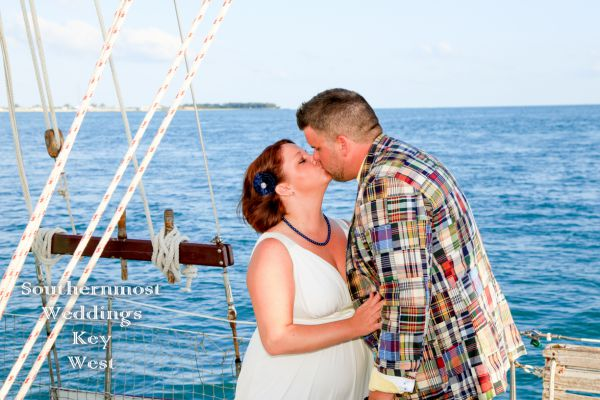 Key West Sunset Sailboat Wedding <br> $3295.00