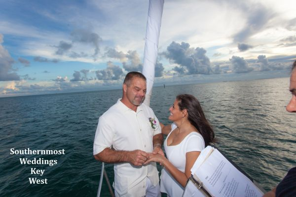 Private Sunset Sailboat Weddings in Key West $795.00