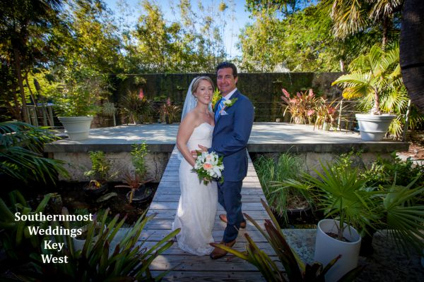 Tropical Forest Elopement Package by Southernmost Weddings Key West