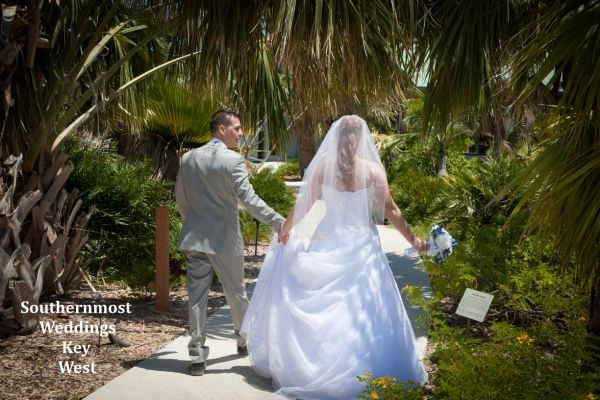 Key West Botanical Garden Elopement by Southernmost Weddings $995.00