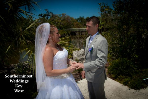 Tropical Forest & Botanical Garden Wedding by Southernmost Weddings $1495.00