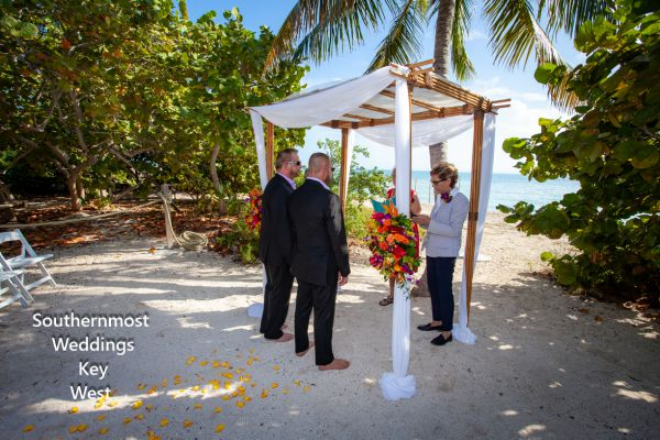 Ft. Zachary Taylor Ocean View Wedding Package