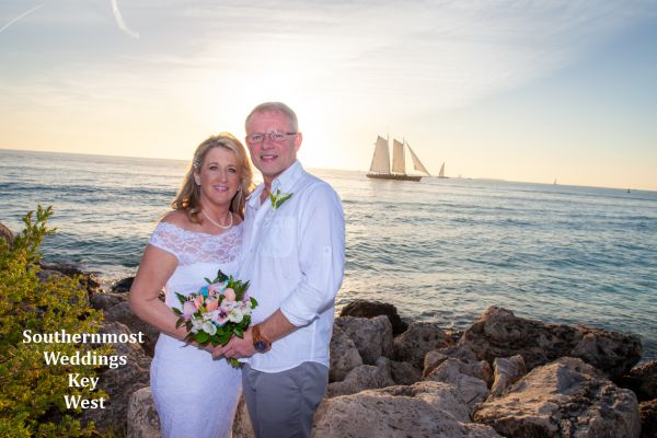 Last Sunset in Paradise Elopement Package by Southernmost Weddings Key West $699.00 Includes Tax & Fees