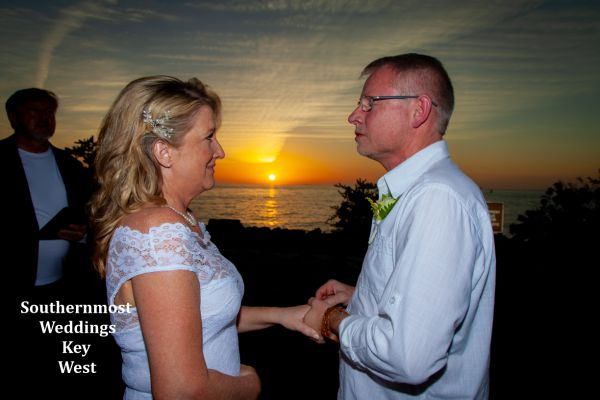 Last Sunset in Paradise Elopement Package by Southernmost Weddings Key West