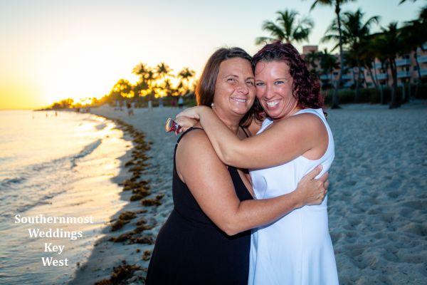 Toes in the Sand Sunset Elopement Package by Southernmost Weddings Key West $345.00
