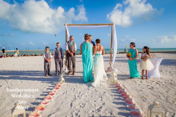 All Inclusive Beach Wedding Package for you and your family by Southernmost Weddings