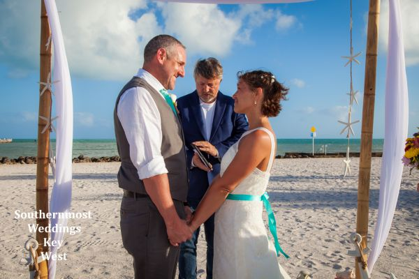 A simple wedding in Key West by Southernmost Weddings