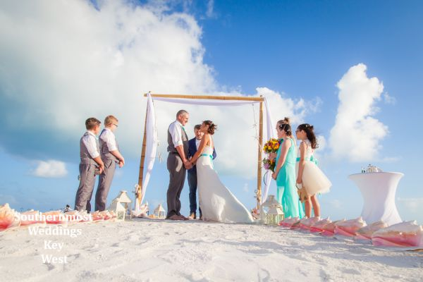 Starfish Plus Beach Wedding Package by Southernmost Weddings $1150.00