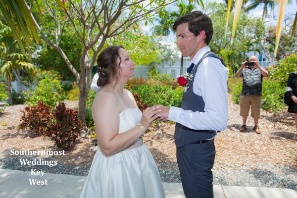 Truman Annex Tropical Garden Wedding by Southernmost Weddings $365.00