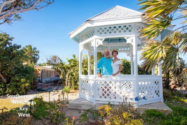 Tropical Garden Wedding Packages by Southernmost Weddings Key West