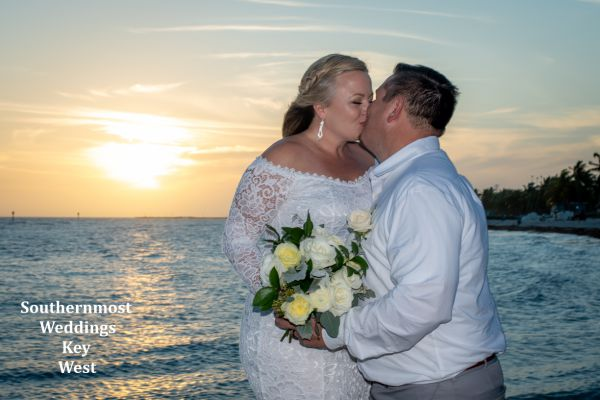 Sunset Wedding in Key West, Florida by Southernmost Wedding