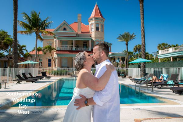 Barefoot Beach Wedding & Southernmost House Honeymoon Package