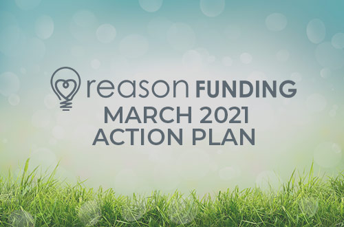 Your March 2021 Fundraising Action Plan