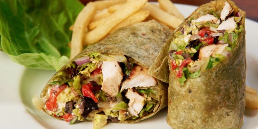 Sample image of Sammy's Grilled Chicken Wrap