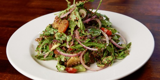 Sample image of Sammy's Wild Arugula and Red Quinoa Salad