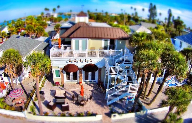 Wide Shot of Coconut Inn