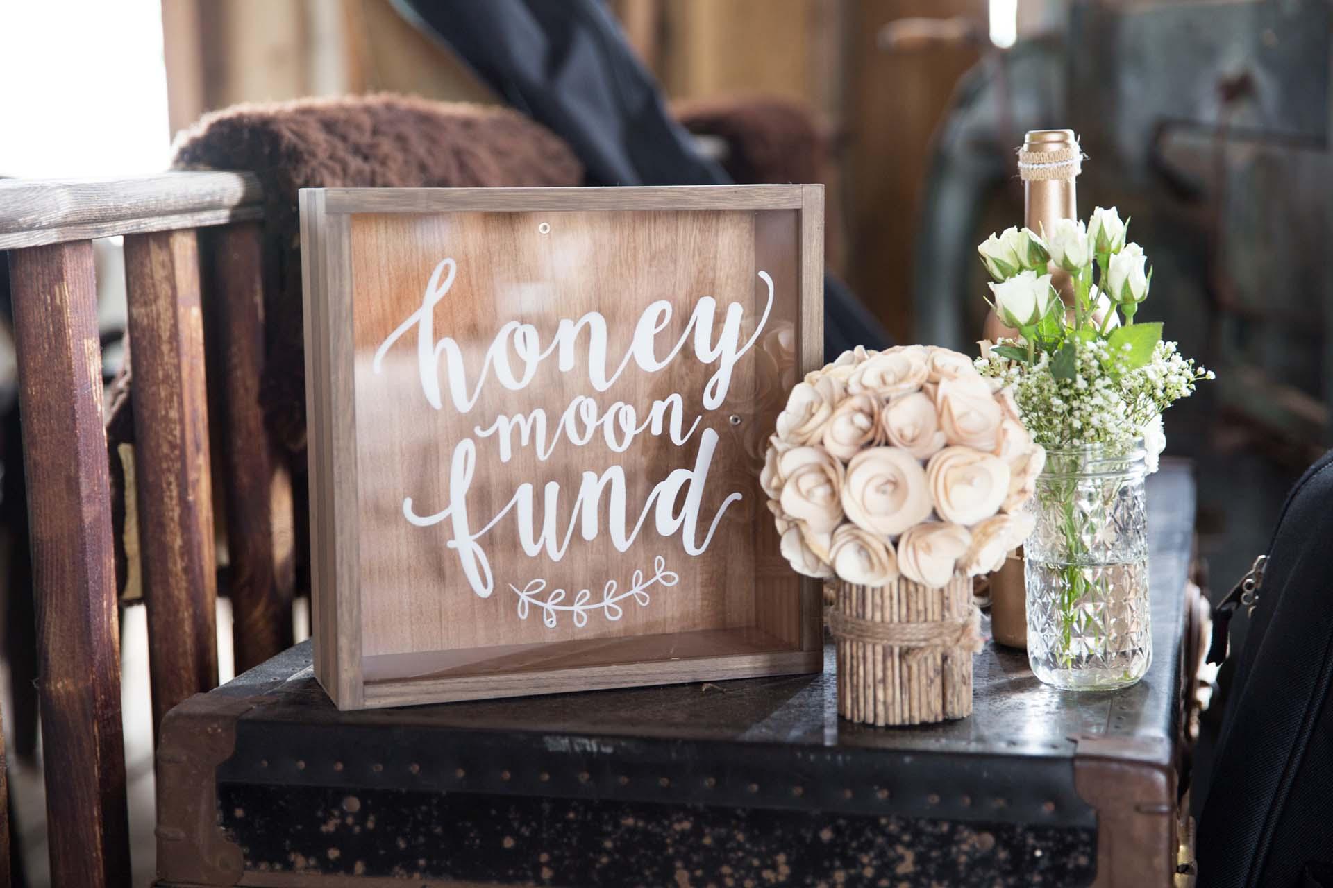 Honeymoon Donations box
