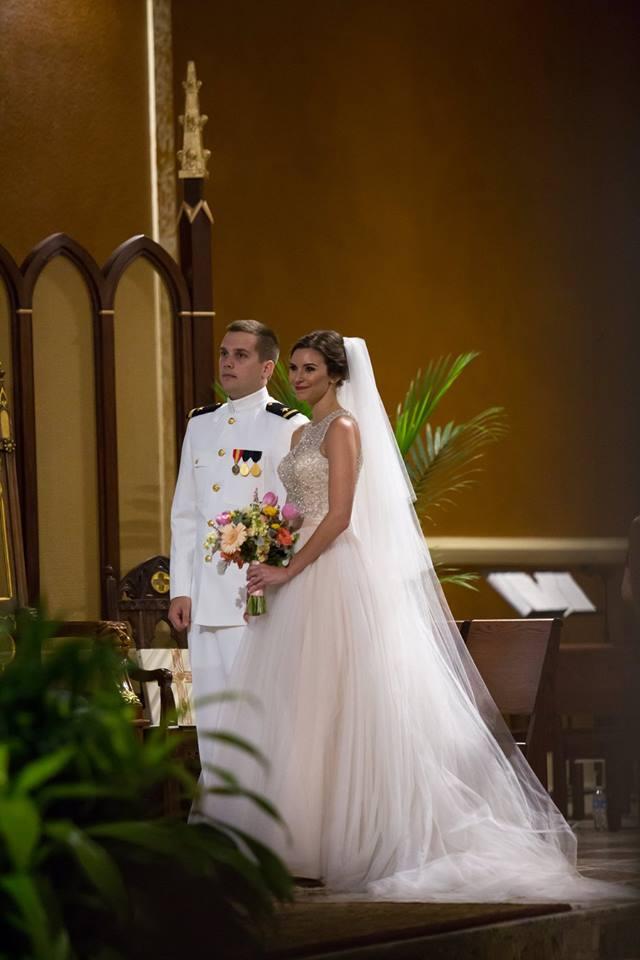 Couple Waiting at altar
