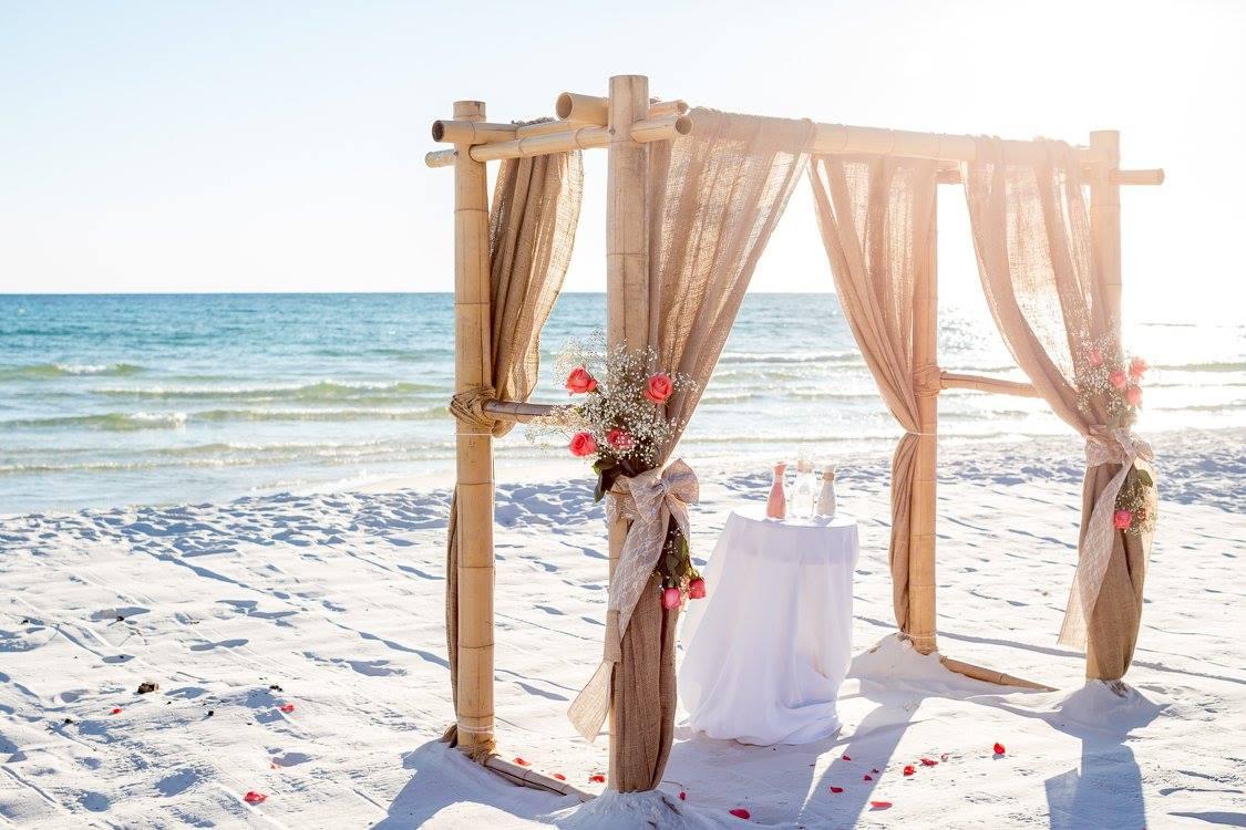 Altar on the beach