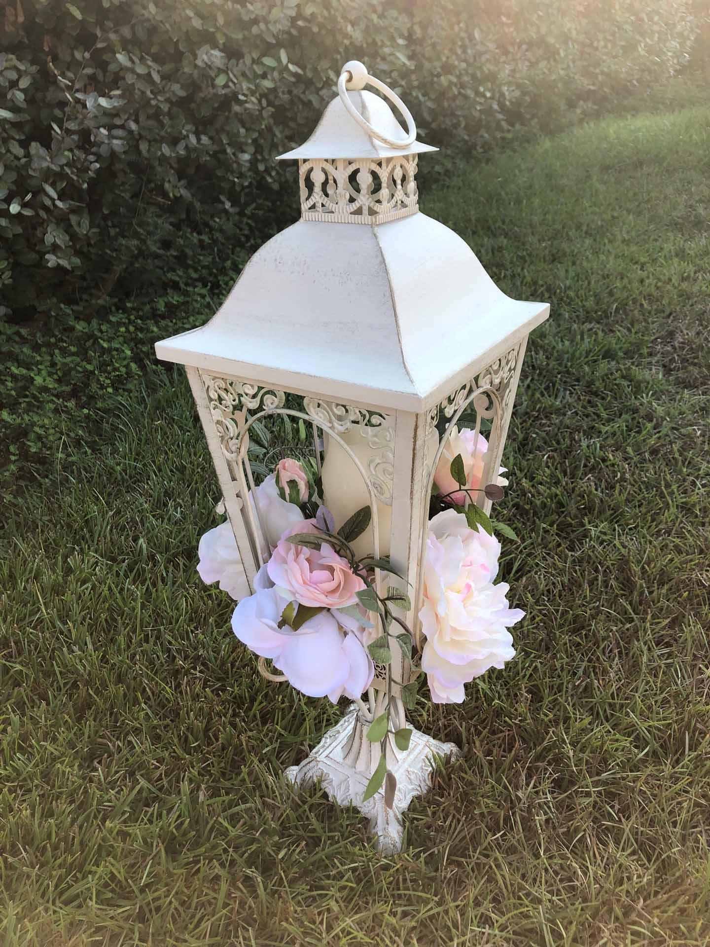 White Vintage Lantern
