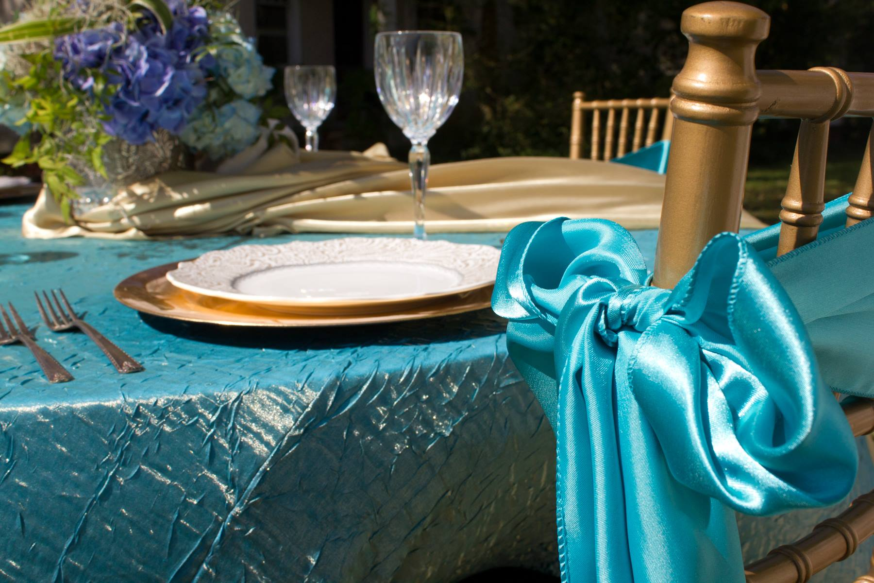 Blue Linens Option