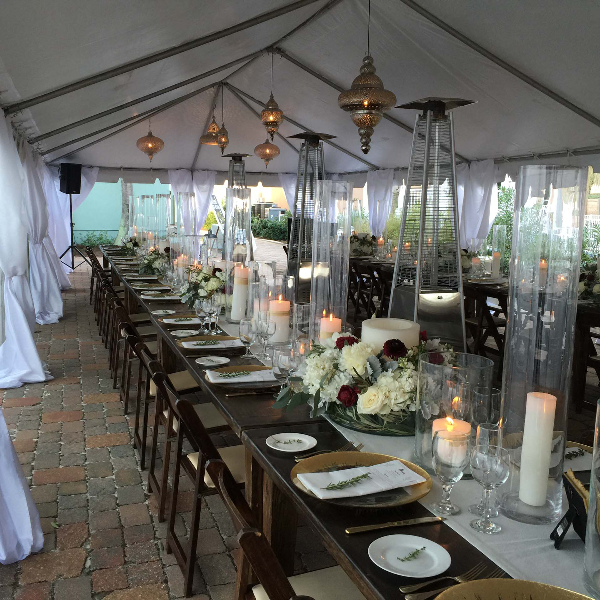 Guest seating at wedding