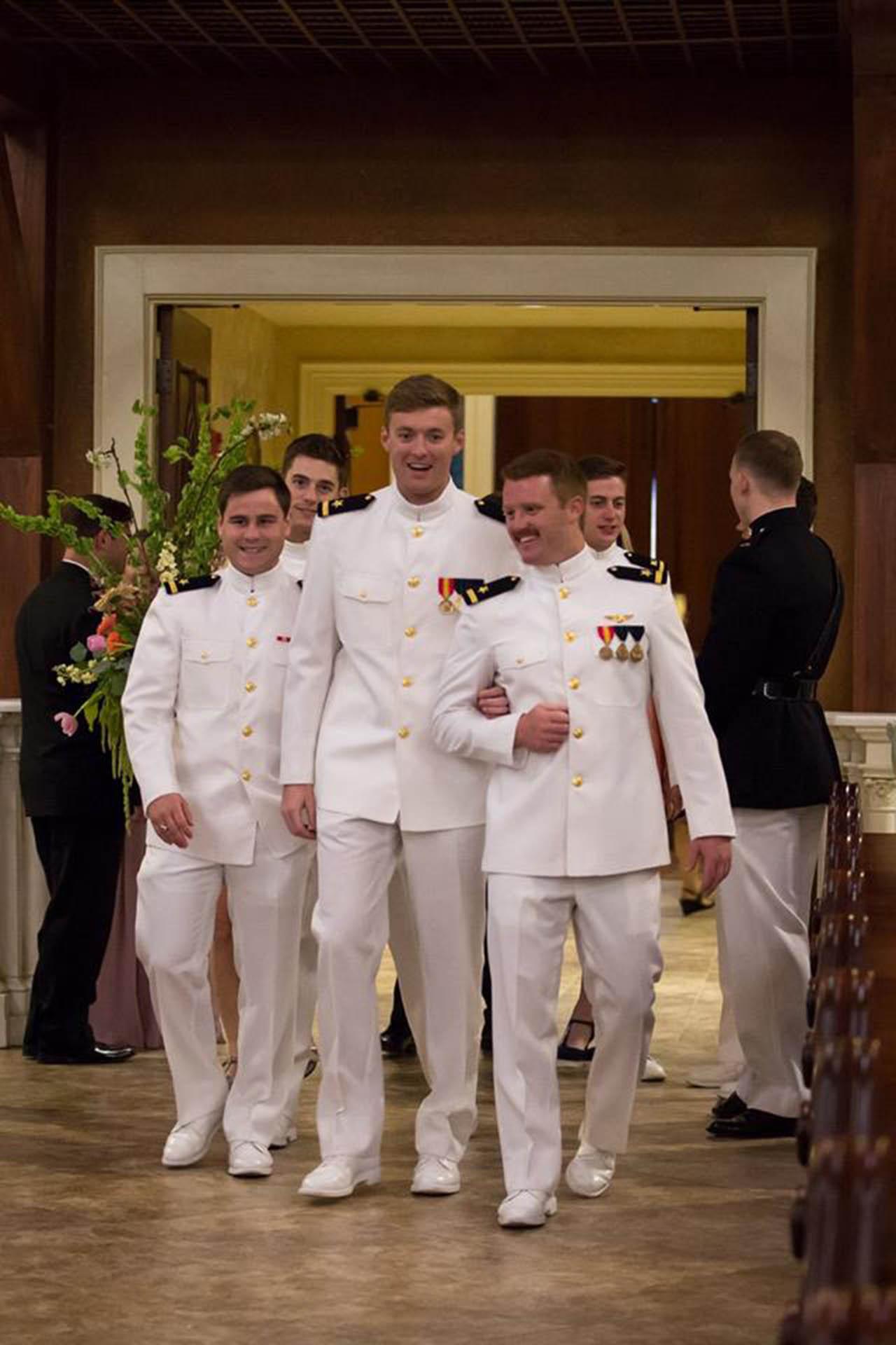 Evan and his groomsmen