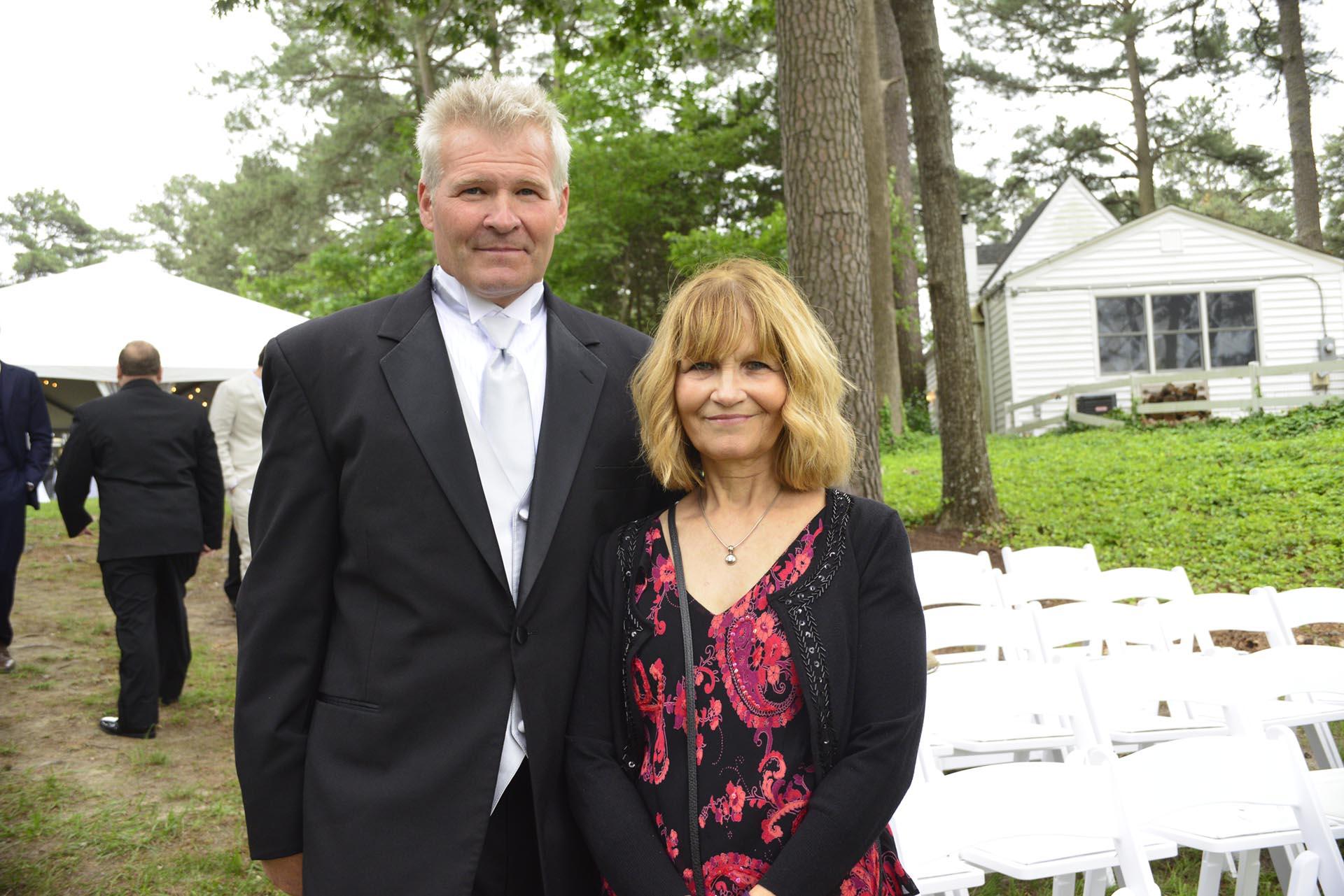 Wedding party's parents