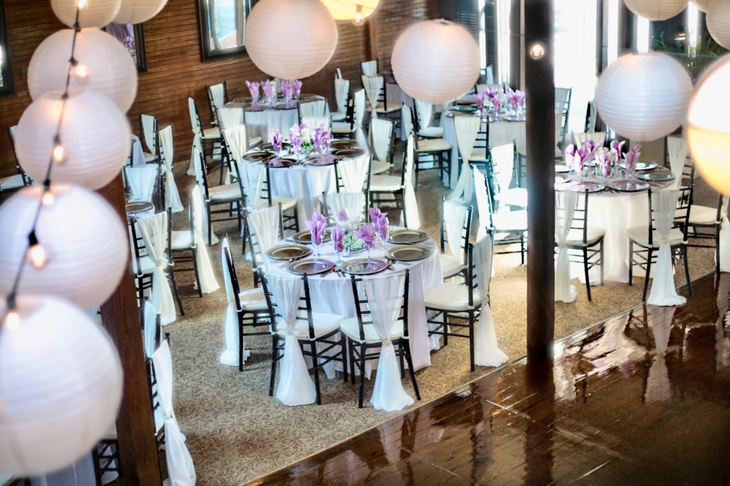 Wedding Tables and venue