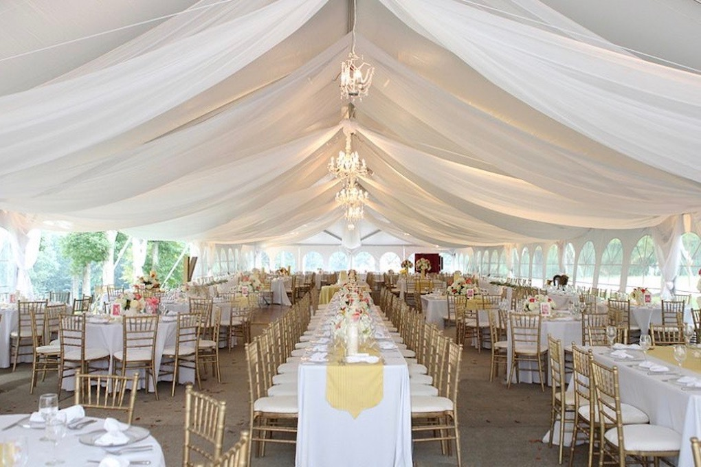 Wedding Tent and Tables